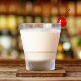 White russian with vodka Stock Images