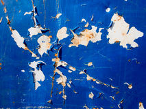 White Rust Texture. Rust texture on blue and white background Stock Images