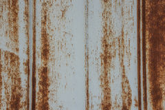 White Rusted Metal Siding Texture Stock Image