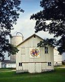White Rustic Barn royalty free stock photo