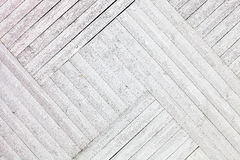 White rustic wooden planks background Royalty Free Stock Images