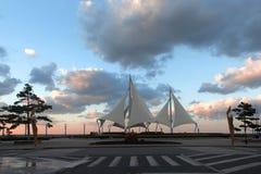 white ' s sail Fotografia Stock