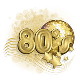 White 80s Royalty Free Stock Images