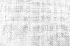 White Sack Texture Background. Royalty Free Stock Photo