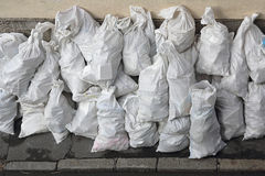 White Sacks Stock Images