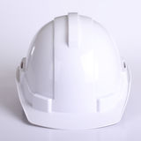 White safety hat Royalty Free Stock Photos