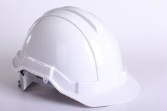 White safety hat Stock Image