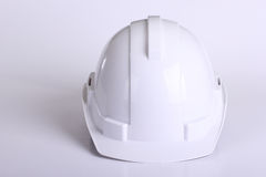 White safety hat Royalty Free Stock Images