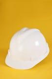 White safety helmet Stock Photo