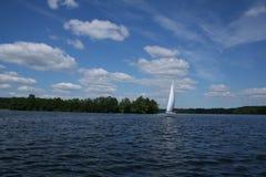 White sail Stock Photos
