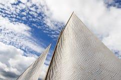 White Sail Royalty Free Stock Photography