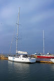 Sailing yacht Stock Photography