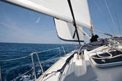 White sails Royalty Free Stock Images