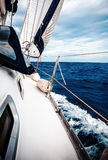 The white sails Stock Image