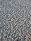 White Sand. At the beach Royalty Free Stock Photos