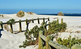 White sand Royalty Free Stock Images