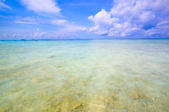 White sand beach  of Andaman Sea in Tachai island Stock Photography