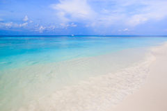 White sand beach  of Andaman Sea in Tachai island Stock Images