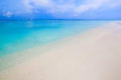 White sand beach  of Andaman Sea in Tachai island Stock Image