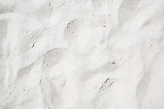 White sand on the the beach Royalty Free Stock Image