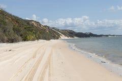 White sand beach, Australia Stock Photography