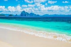 White Sand Beach Royalty Free Stock Photo