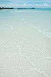 White Sand Beach, Blue Sky! Royalty Free Stock Image