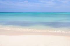 White sand beach on Cayo Levisa Island in Cuba Stock Image