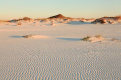 White Sand Beach, Gulf of Mexico Royalty Free Stock Photography