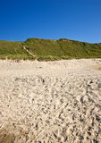 White sand beach - Jutland Stock Images
