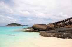 White sand beach at Koh Miang  ,Similan Islands Stock Photos