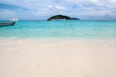 White sand beach at Koh Miang  ,Similan Islands Royalty Free Stock Image