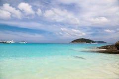 White sand beach at Koh Miang  ,Similan Islands Stock Image