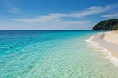 White sand beach of koh rok island Royalty Free Stock Image