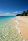 White sand beach of koh rok island Stock Photos