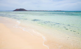 White sand beach o Stock Photography