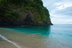 White Sand Beach is one of the most beautiful beaches in Bali. Royalty Free Stock Photos