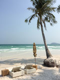 White sand beach in Phu Quoc island, Vietnam Royalty Free Stock Photo