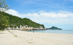 White sand beach in Thailand Stock Photography