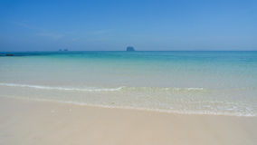 White sand beach in thailand on Koh Bulon tropical Island. Royalty Free Stock Photography
