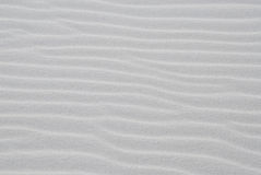 White Sand Beach With Ripples Royalty Free Stock Image