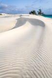 White sand dune Stock Photography