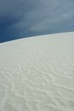White sand dunes. National park stock images