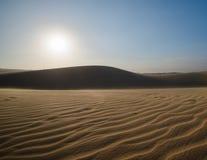 white sand dunes  Mui Ne Vietnam Stock Image