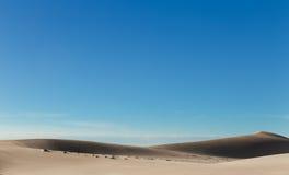 White sand dunes at Mui Ne village Vietnam Royalty Free Stock Photography