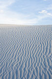 White Sand Dunes Royalty Free Stock Photos