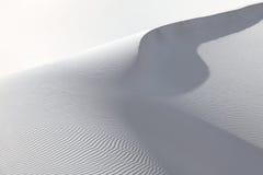 White sand dunes Stock Photo
