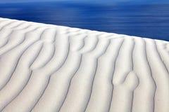 White sand dunes Stock Photos