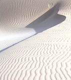 White sand dunes Royalty Free Stock Photo