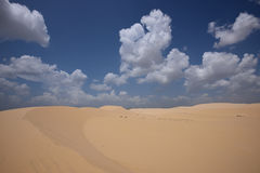 White Sand Dunes, Vietnam Royalty Free Stock Images